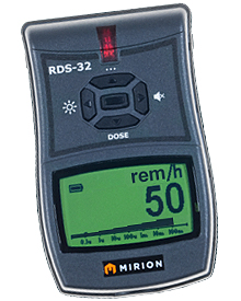 Mirion RDS-32 Radiation Survey Meter