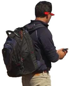 Rapiscan-TSA MP-100 Backpack Radiation Detection