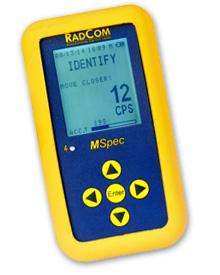 RadComm MSpec Handheld Gamma Spectrometer