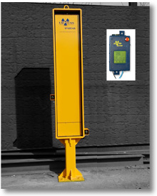 RadComm RC1000 Vehicle Radiation Detection System