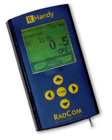 RHandy Portable Radiation Detector