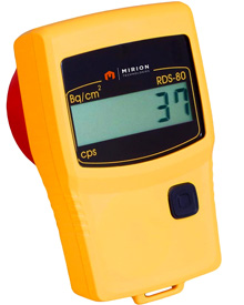 Mirion RDS-80 & RDS-80A Handheld Radiation & Contamination Monitors