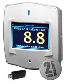 Rad-DX - Innovative, Compact & Sensitive Radiation Monitor