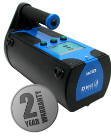 Rad-ID Handheld Isotope Identification