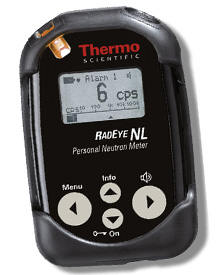 Thermo RadEye NL Personal Neutron Radiation Detector