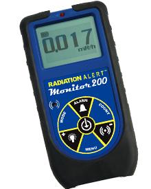 SEI - RADIATIONALERT Monitor 200 Survey Meter