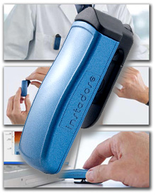 instadose Instant Readout Radiation Dosimeter