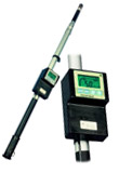 TelePole telescoping gamma survey meter